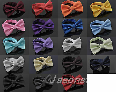 Mens High Fashion Adjustable Polyester Wedding Prom Party Bow Tie New New