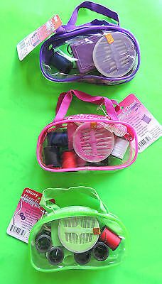 Home & Travel Sewing Repair Kit Needles Scissors Thread Pins Buttons Thimble ++