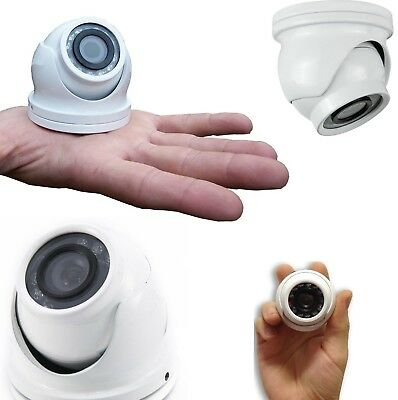 Mini Telecamera Dome Ahd Videosorveglianza Full Hd 1080P 3.6Mm 12Led Video 1.3Mp