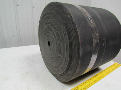 1 Ply Black Nylon Rubber Center Conveyor Belt 296Ft X 16""