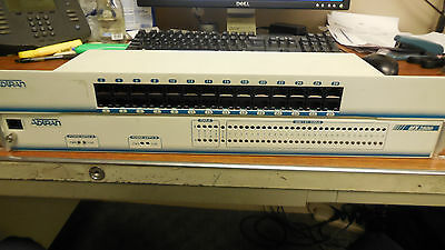 Adtran Multiplexer Chassis MX2800 & Patch Panel 1200291L1