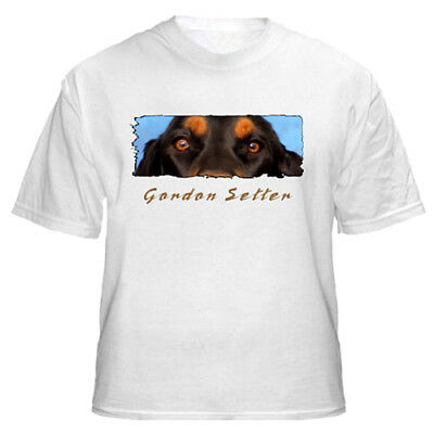 "Gordon Setter   "" The Eyes Have It ""   Custom Made   T shirt"
