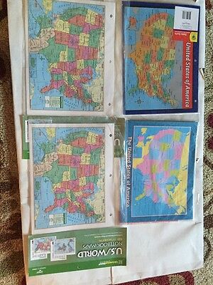 Teaching Tree United Maps (1) State Facts (1) Preprinted Handout. 24 In Pack
