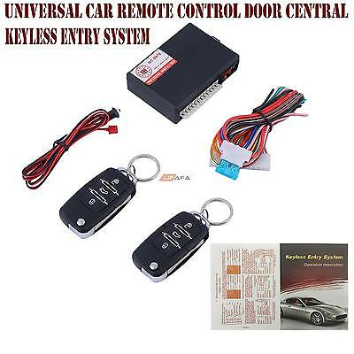 Universal Car Remote Control Door Central Lock Locking Kit Keyless Entry System