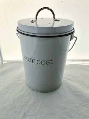 New Retro Kitchen Scraps Garbage Compost Bucket with plastic insert