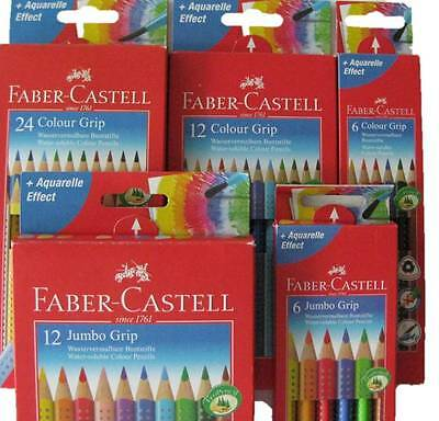 Faber Castell Jumbo Grip Colour Grip 6er 12er 24er Buntstifte Set Farbstifte 12