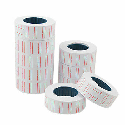 10 Rolls Market Price Marking Adhesive Base Label Paper Qteru
