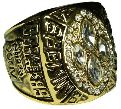 Goodies Bague Chevaliere NFL SIDNEY SF 49ERS Superbowl 1989 neuve