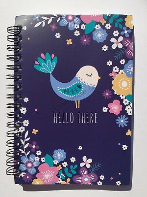 Paperdot Lovely Birds Stationery Spiral Notebook 120 Pages Office School Notes