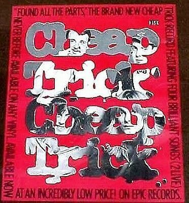 Cheap Trick poster Found All Its Parts 1980 mint condition