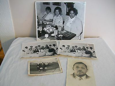 Vintage Black and White Photos Lot of 5