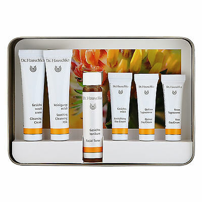 1 Pack 6 pcs Dr. Hauschka Face Care Kit Normal Dry Sensitive Skin Facecare Gifts