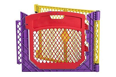 Superyard Play Yard Colorplay Door Extension Baby Kids Gate Safety Security New