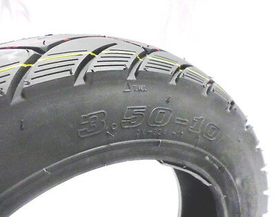 3.5 x 10 Tubeless Tire Chinese Scooter GY6 Good Rubber 139QMB FRONT &REAR FAST2u