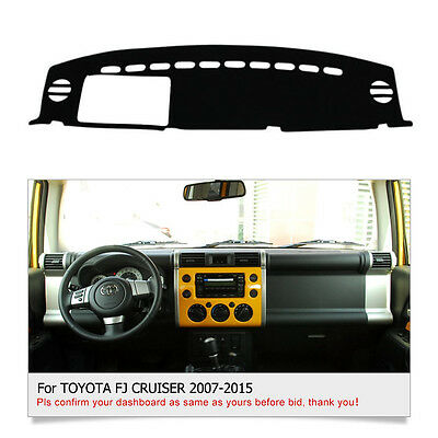 For TOYOTA FJ CRUISER 2007-2014 DashMat Dashboard Cover Dash Cover Mat Fly5D
