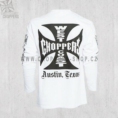 WEST COAST CHOPPERS ORIGINAL T-SHIRT - OG Cross Long Sleeve