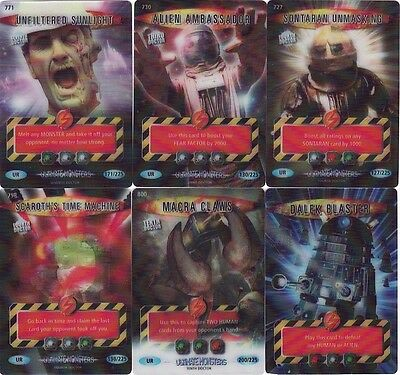 Doctor Who Ultimate Monsters Ultra Rare Selection Battles In Time