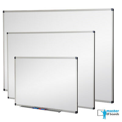 Magnetic Dry Wipe Whiteboard Aluminium Frame * Office School Memo Notice board