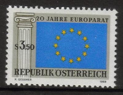 Austria Mnh 1969 Sg1551 20Th Anv Of Council Of Europe