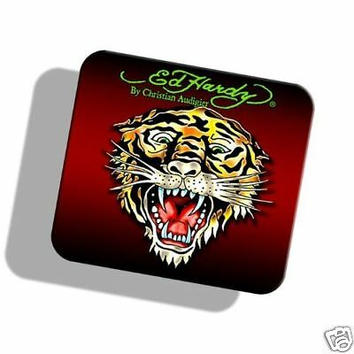 NEW ED HARDY TIGER Tattoo Design Computer Laptop Mouse Pad Limited Edition