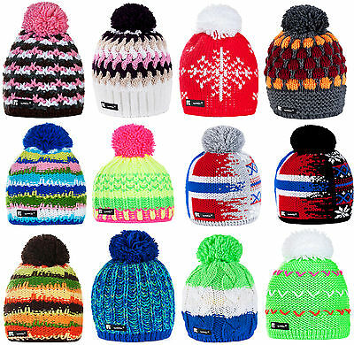 Men Women Unisex Beanie Hat Winter Wool Knitted NORDIC Fleece Ski Hats Skate Cap