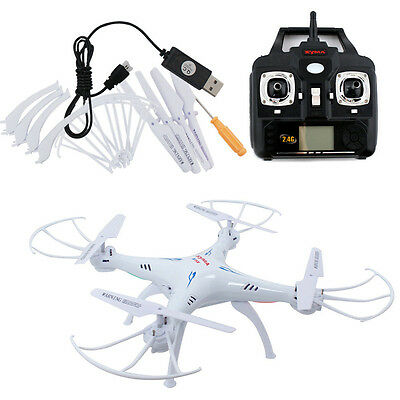Cool Sports Syma X5S-1 2.4Ghz 4CH 6-Axis Gyro RC Quadcopter Drone W/ 2MP Stock