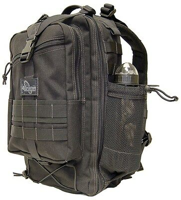 "New Authentic Maxpedition Pygmy Falcon-II Backpack 10"" x 19"" x 8.5"" Black 0517B"