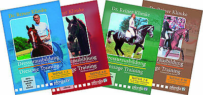 Dressage Training Vol. 1-10 The Complete Set Dr. Reiner Klimke - DVD Brand New