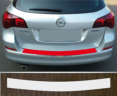 clear protective foil bumper transparent Opel Astra J Sports Tourer Facelift