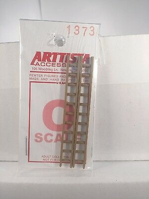 Arttista 2 Short Ladders #1373 - O Scale On30 On3 Figures People Artista New