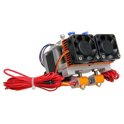 Geeetech latest MK8 dual extruder two Print Head for Prusa 3D Drucker MakerBot
