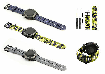 Replacement Fitness Watch Band Strap Tool Kit for Garmin Fenix 3 GPS Sport Watch