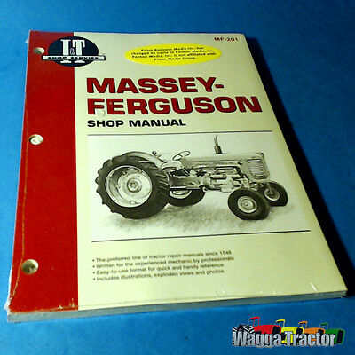 MF201 Workshop Manual Massey Ferguson MF 65 Tractor Super 90 1080 1085 1100 1135