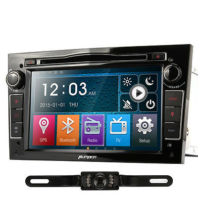 "7"" Autoradio DVD GPS Navigation Bluetooth+Cam for Opel Antara Vectra Astra Corsa"
