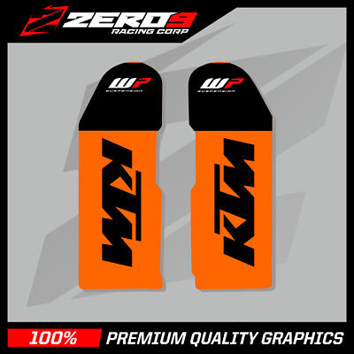 Ktm Sx Sxf 2000 -2007 Exc 1998-2007 Motocross Graphics Mx Graphics Lower Fork Wp