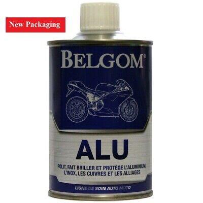 Belgom Alu Aluminium Alloy Polish plus FREE Polishing Cloth