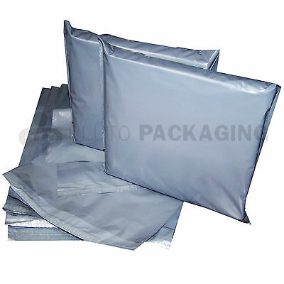 Large Sizes Strong Grey Plastic  Mailing Poly  Postage Mail Bags With Self Seal