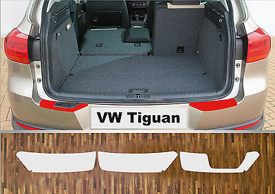 bumper strip protective film clear VW Tiguan, 2007-2016