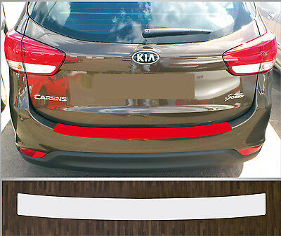 clear protective foil bumper protection transparent KIA Carens 4, 2013