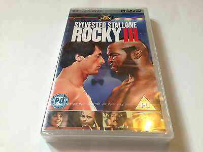 Rocky Iii  (3) - Sony Psp Umd Movie - Mint & Sealed - Boxing / Stallone - Mr T