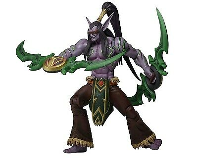 """Heroes of the Storm 7"""" Scale Action Figure - Illidan Stormrage - NECA / Blizzard"""