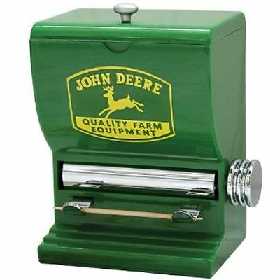 JOHN DEERE Toothpick Dispenser NEW Gifts Collectibles