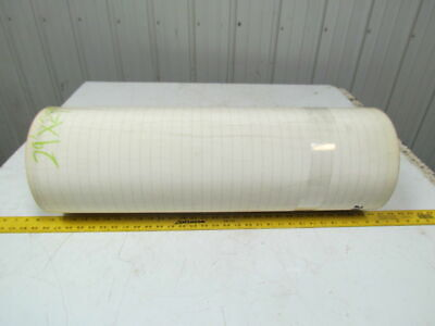 2 Ply Smooth Top Clear/White Urethane Rubber Conveyor Belt 29Ft X 29""