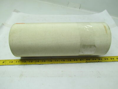 "2 Ply White Rubber Smooth Top Nylon Backed Conveyor Belt 14Ft X 13"" 0.095"" Thick"