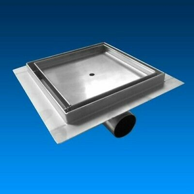 stainless steel Shower drain Floor bê fliesen bar square , with Siphon