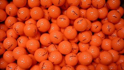 50 Brand New Optic Tour Golf Balls - Orange