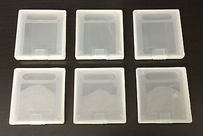 Game Cartridge Cases For Nintendo Gameboy Games Set Of 6 - Gbp Gb Gbc