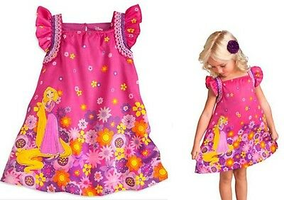!Clearance! NEW Baby Girl Rapunzel - Tangled Top Dress T sirt size 00-4T