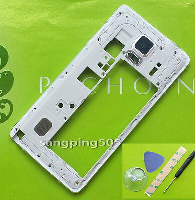 E-Middle Frame Bezel Housing Case Cover For Samsung Galaxy Note 4 N910F