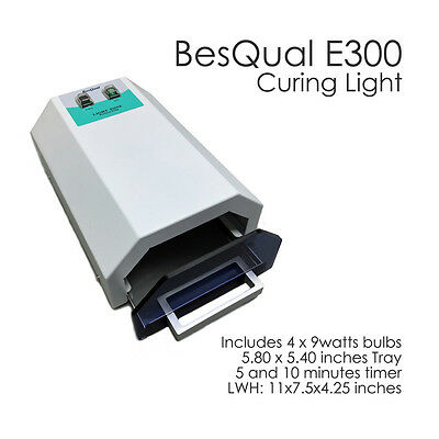 Light Curing Light Cure Oven For Dental Lab Or Dental Office Besqual E300 New!
